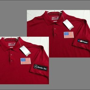 New XL Red C-Buck Dry-Tec Men USA Cotton #40X Polo